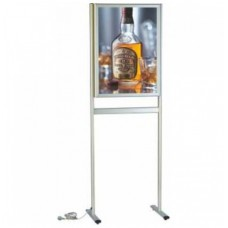 Işıklı Stand-Gönye B2 500x700mm