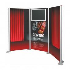 Centro Stand Tv Üniteli 3 Panel