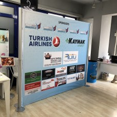 Centro Stand Banner 3 Panel
