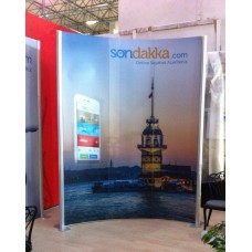 Centro Stand Oval 225x300 CM