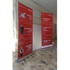 Roll Up Banner Smart 80x210cm